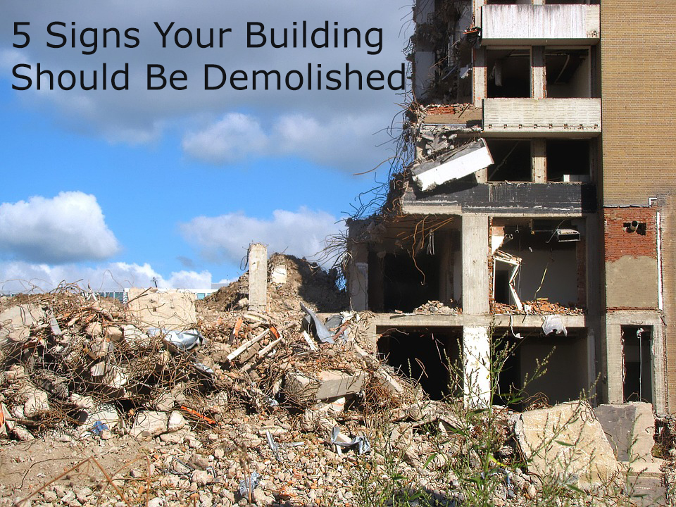 demolish your building picturee